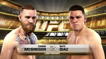 UFC 196 Conor McGregor Nate Diaz