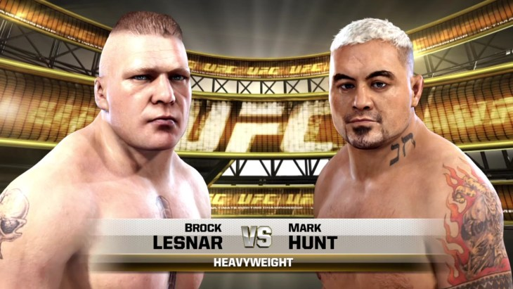 lesnar hunt