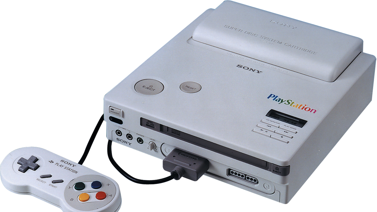 """Prototype for the Sony """"Play Station"""" - The Super NES CD Console"""