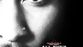 Official ALL EYEZ ON ME Poster Captures the Heart of Tupac Shakur