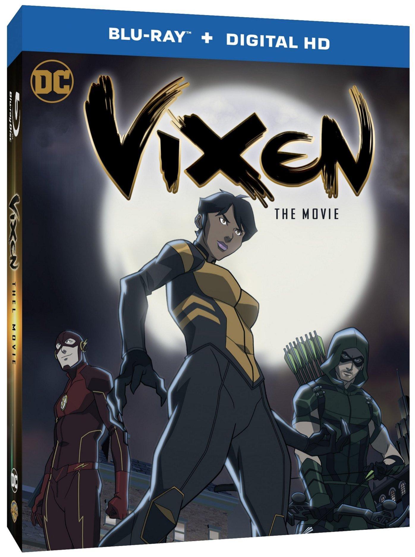 Vixen - The Movie BD Box Art 1