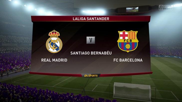 Real Madrid vs. Barcelona - La Liga 2016/17