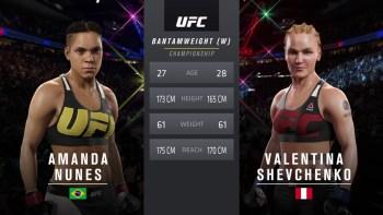 Nunes vs. Shevchenko 2 - Women's Bantamweight Title Match