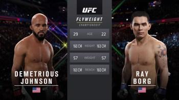 UFC 215: Johnson vs. Borg - Flyweight Title Match