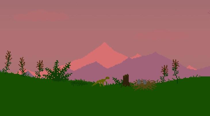 A screenshot of dino run