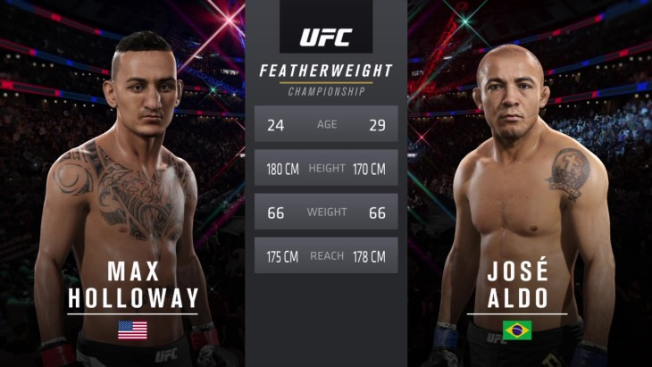 UFC 218 Holloway Aldo