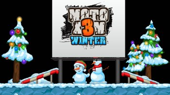 Come play Moto X3M Winter