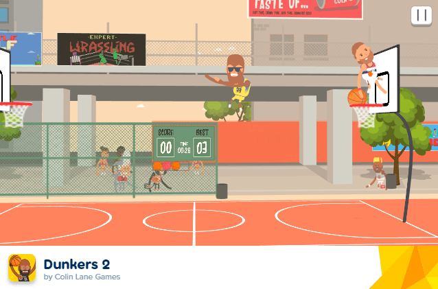 Dunkers screenshot 2