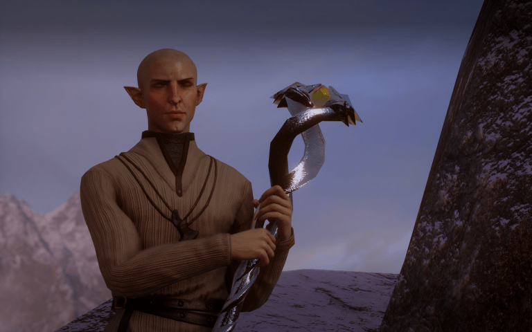 Solas from Dragon Age
