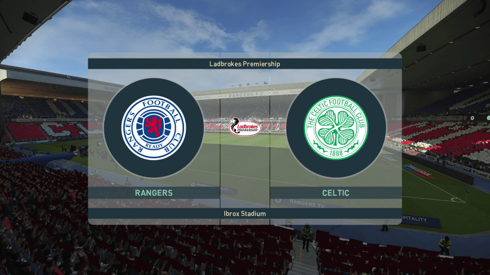 Rangers vs. Celtic - Scottish Premiership 2018/19 - CPU Prediction