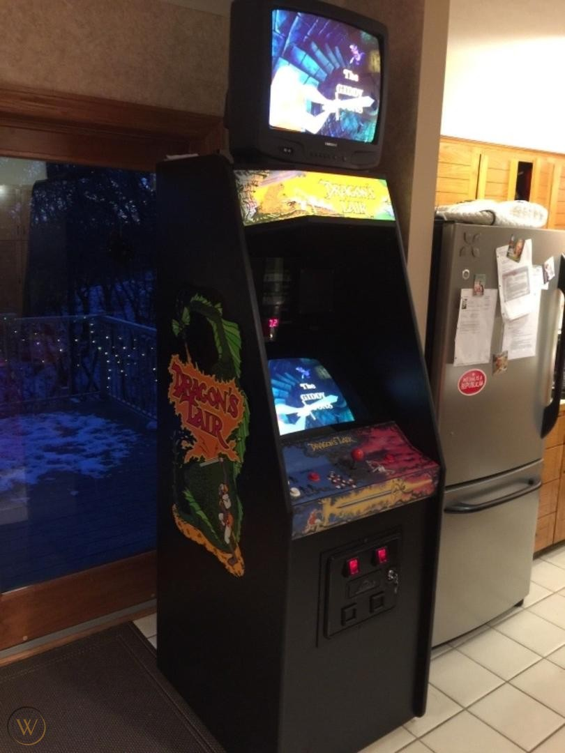 Dragon's Lair, one of the best games in arcade history