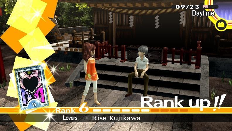 Persona 4 Golden Social Link