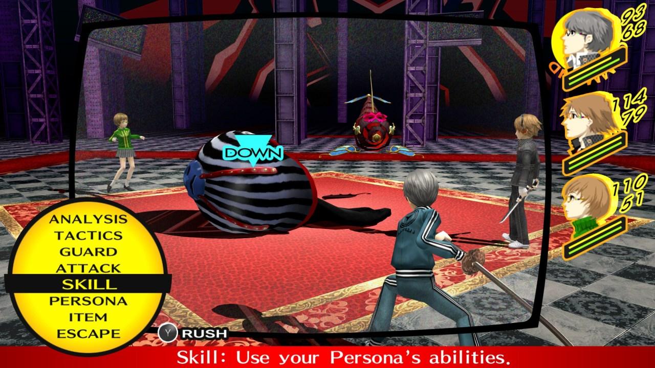 Persona 4 Golden Battle