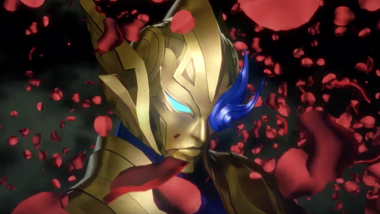An image of Shin Megami Tensei V with one of the species in the game