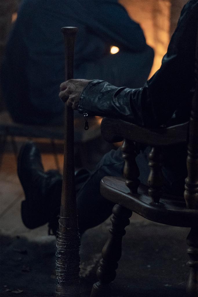 Jeffrey Dean Morgan as Negan - The Walking Dead _ Season 10 - Photo Credit: Josh Stringer/AMC
