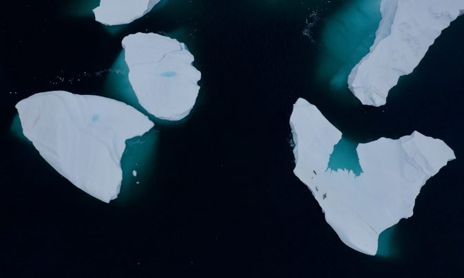Antarctic sea ice. (National Geographic for Disney+/Hayes Baxley)