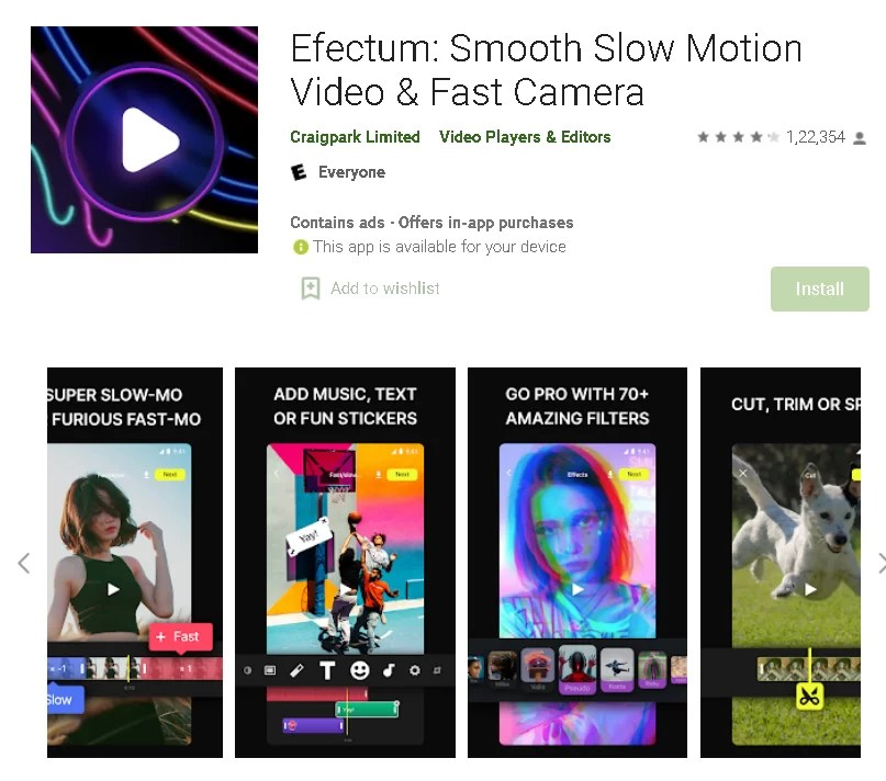 Best_5_slow_motion_video_app_Efectum