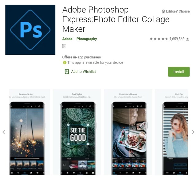 Photoshop Express for Android iOS Free thekoffeetable free adobe software,free adobe software for mac,free adobe apps for android,free adobe apps for mac,Free Adobe Software for Content Creators