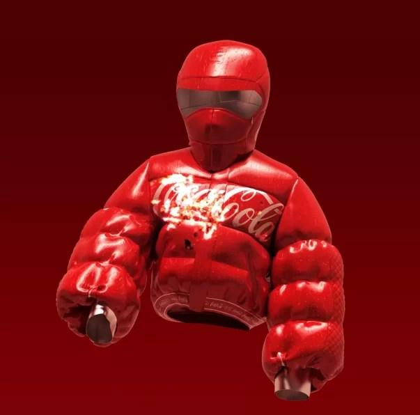 coco cola nft auctions jacket