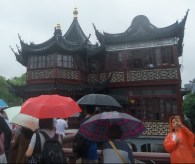 Yu Garden in the rain