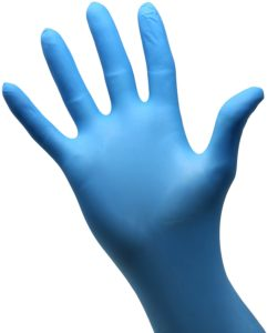 Safeko nitrile exam gloves
