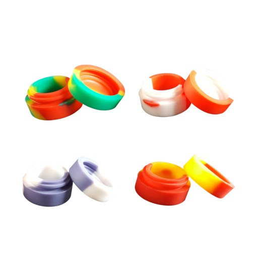 Silicone wax containers