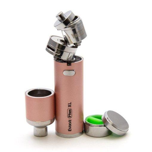 Authentic-Yocan-Evolve-Plus-XL-Wax-Vape-Pen-Quartz-Rod-Coil-Wax-1400mah-Dab-Pen-Vaporizer