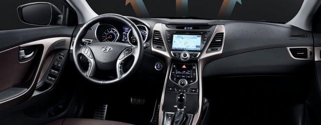 The New Hyundai Avante Interior Look 640x250 Korean Car Blog