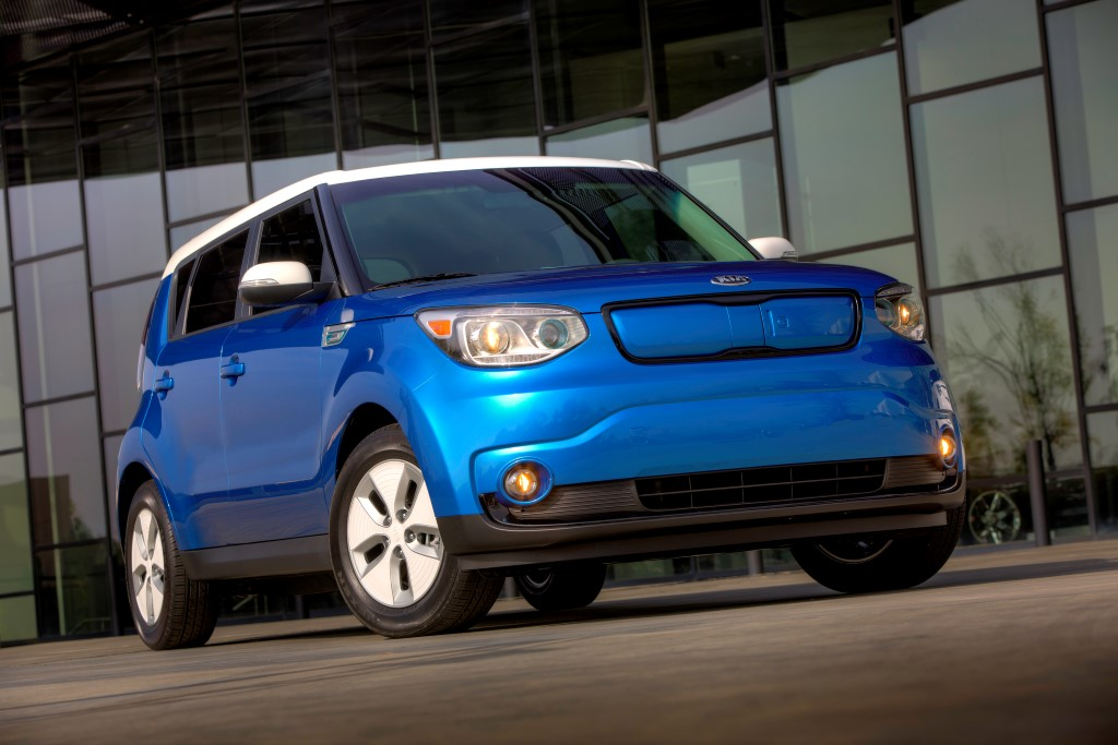 2014 Kia Soul Eco Electric Ev Electric Vehicle (