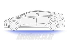Hyundai Prius Killer Sketched in South Korea