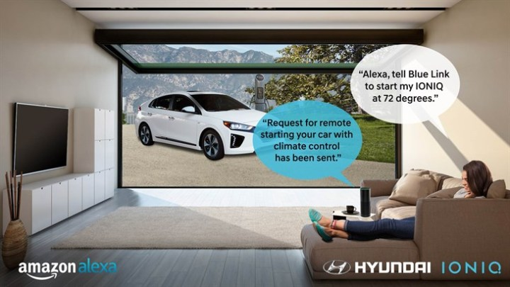 Hyundai Amazon Alexa