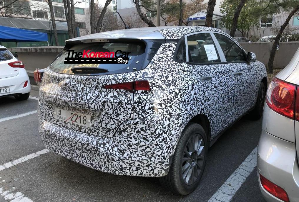 Hyundai Kona EV spied 2