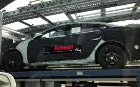 Hyundai Sonata DN8 spied (2)