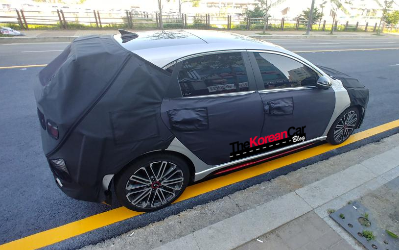 kia ceed gt spied south korea (3)