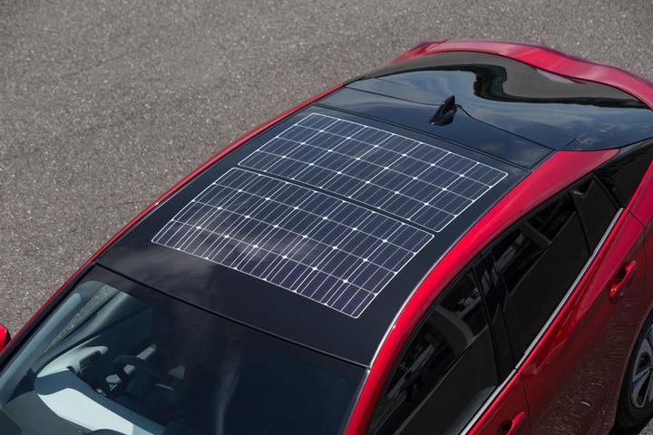 toyota prius prime solar roof
