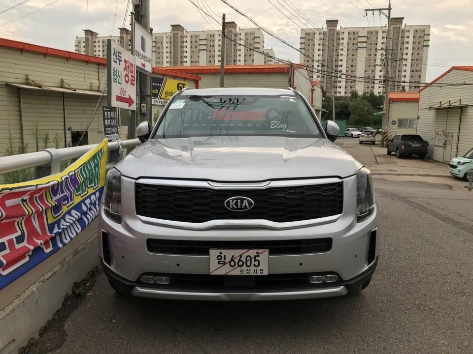 Kia Telluride Spied In The Wild Korean Car Blog