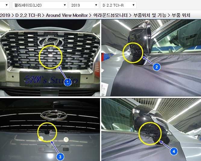 hyundai palisade exclusive interior details and measures (1)