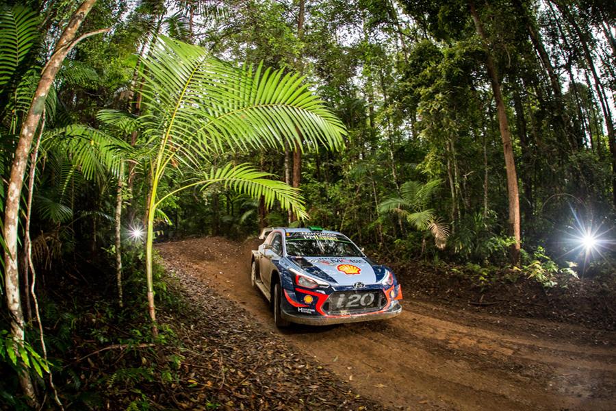 2018 FIA World Rally Championship Round 13, Rally Australia 15-18 November 2018 Hayden Paddon, Seb Marshall, Hyundai i20 Coupe WRC Photographer: Fabien Dufour Worldwide copyright: Hyundai Motorsport GmbH