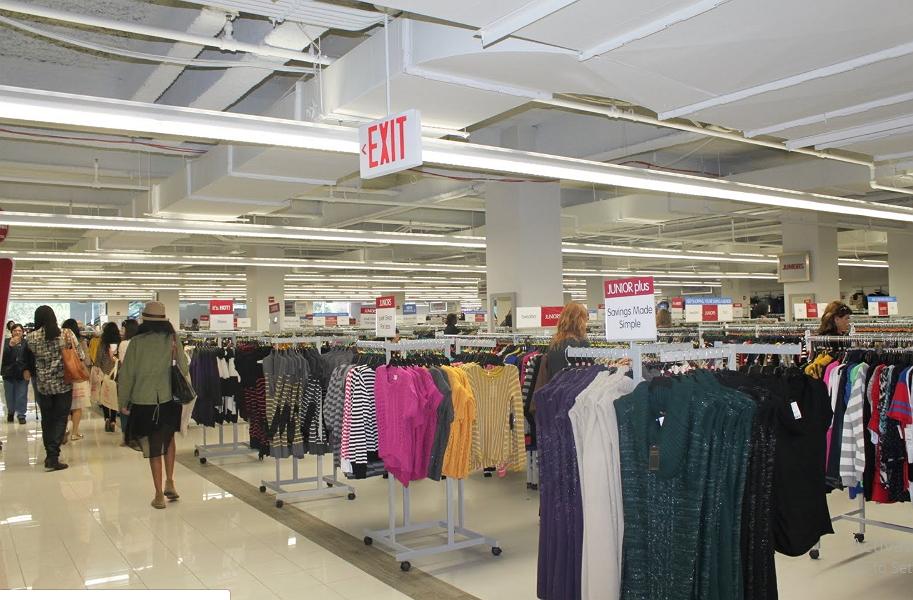 women's and kids clothing at Burlington