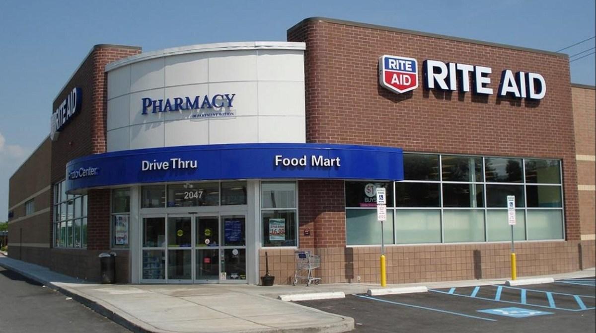 Rite aid pharmacy,drive thru and food mart store.