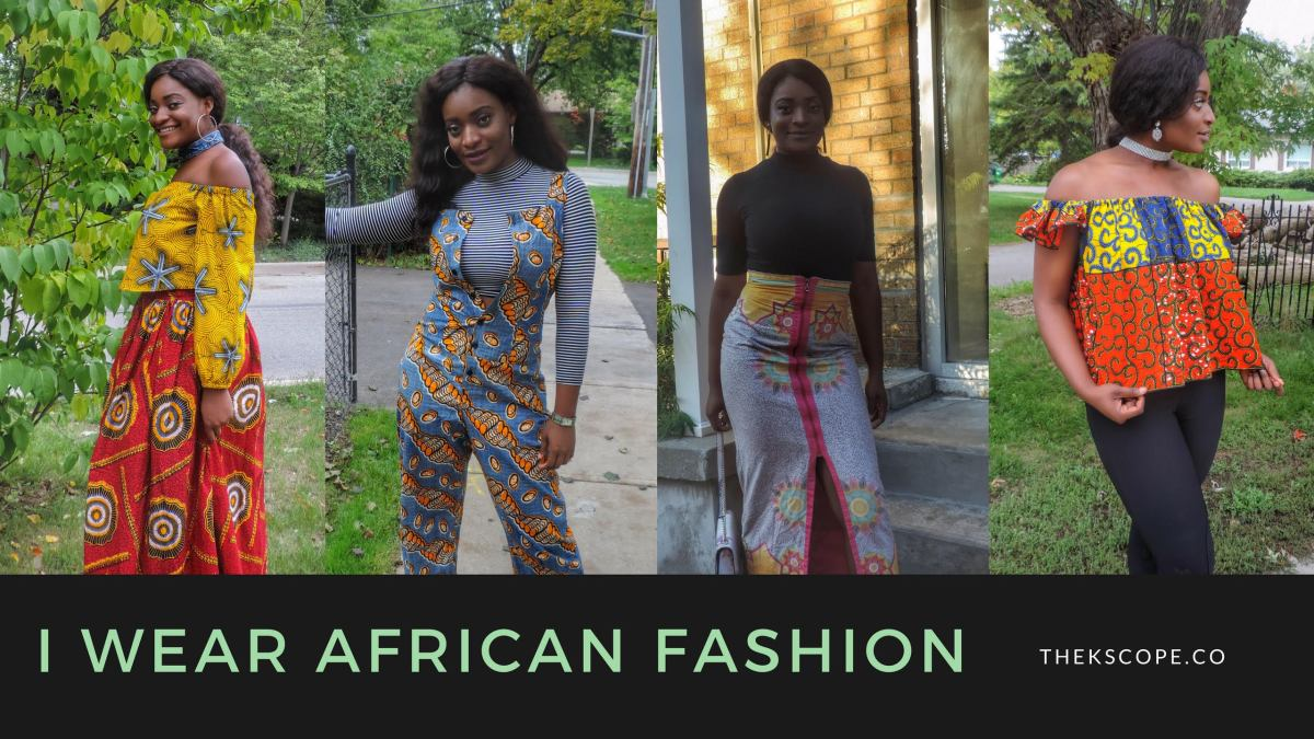 I Wear African Fashion