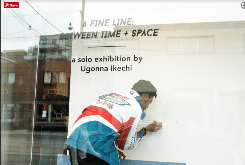 A Fine Line: Between Time + Space; Solo Exhibition by Gunna Highlights