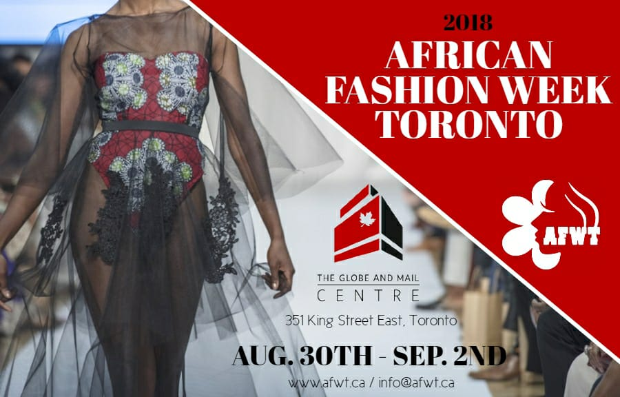 African Fashion Week Toronto | Thurs. Aug 30th – Sun. Sep 2nd