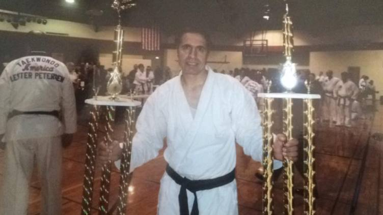 My father, toughened in Iranian prison, became a black belt in the United States.