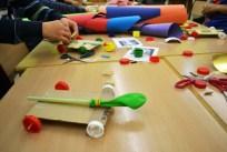 Tallers extraescolars - Cotxes propulsats amb globus