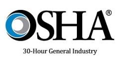 OSHA 30 Hour Logo