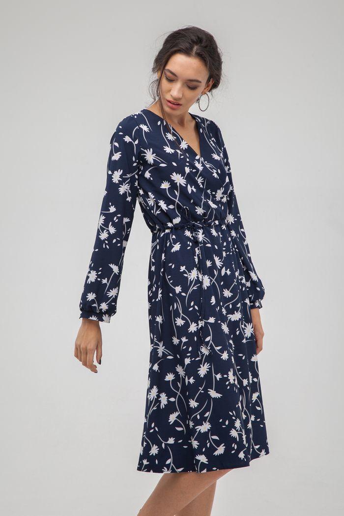 Платье миди на запах Camomile - THE LACE