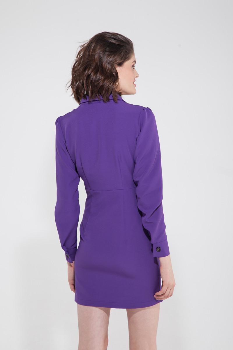 Платье-жакет фиолетовое - THE LACE