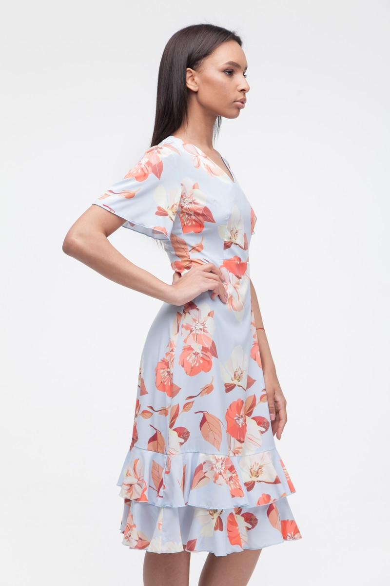 Платье с воланами Fancy Flowers - THE LACE