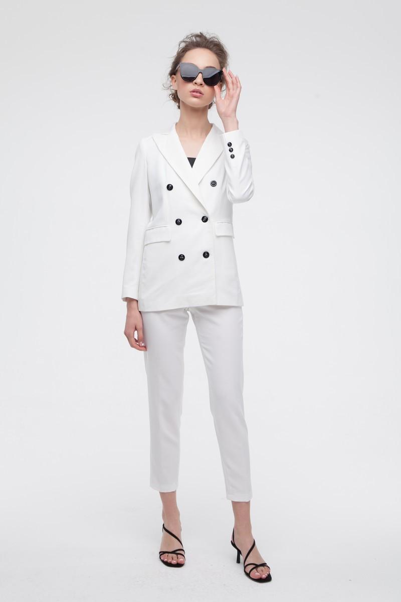 Брючный костюм белый - THE LACE